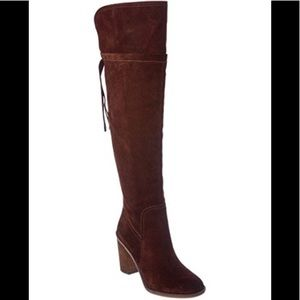 "NWOT FRANCO SARTO"" ECKHART"" OVER THE KNEE BOOT"